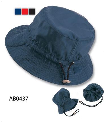 AB0437 Cappello mod. Pescatore richiudibile nylon impermeabile b3541440f4e9